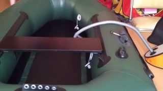 видео B 210c гребная одноместная надувная лодка bark отзывы