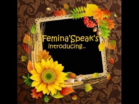 Kizoa Video Maker: Femina'Speaks.......