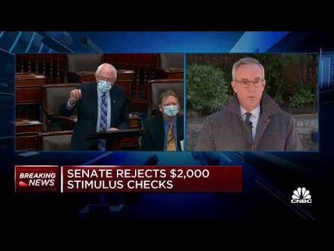 $2000 stimulus check update: Senate may vote Tuesday on larger ...