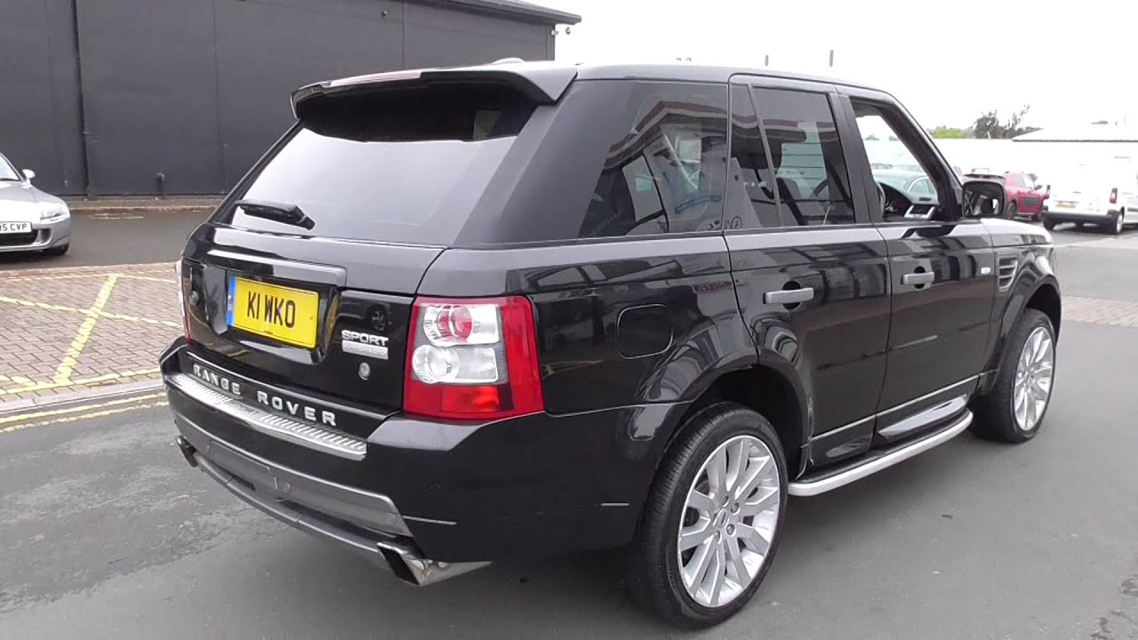 land rover range rover sport 2 7 tdv6 stormer 5dr auto u11100 youtube. Black Bedroom Furniture Sets. Home Design Ideas