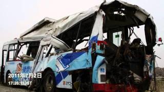 【2011.7】2011.3.11名取駅14:30発ミヤコーバス閖上6丁目行き Tsunami bus 해일 버스 Tsunami bus
