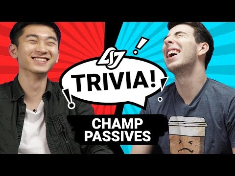 GUESS THAT LOL CHAMP PASSIVE #2 | CLG TRIVIA ft. Biofrost + Stixxay