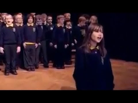 Autistic girl's angelic singing voice stuns the world