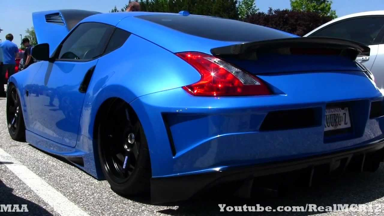 Stunning Nissan 370z Lowered Youtube