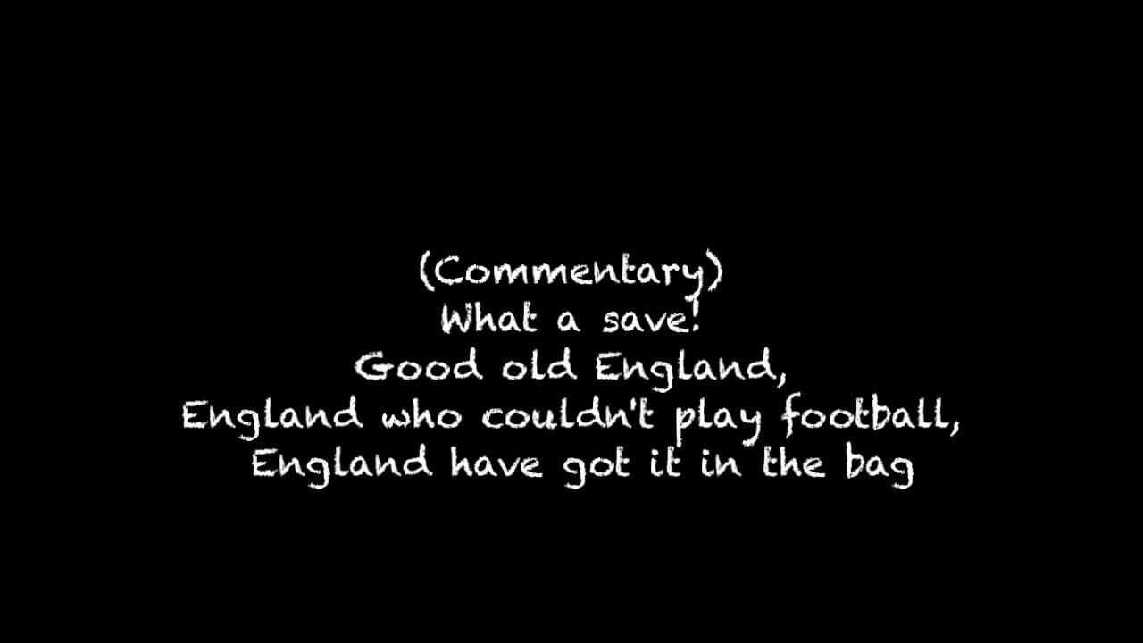 World Cup Three Lions Lyric Video Hd