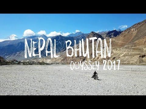 Nepal Bhutan Odyssey 2017 | DJI Mavic Pro | Gopro