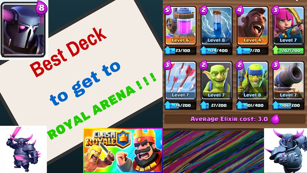 Best Deck To Get To Royal Arena Cheap Clash Royale Deck