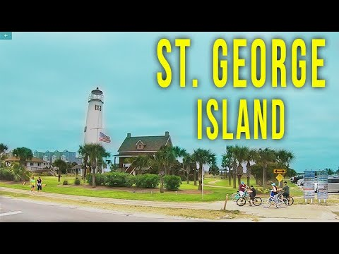 Drive To St George Island, FL In July 2020 In The Midst Of The COVID-19 Pandemic.