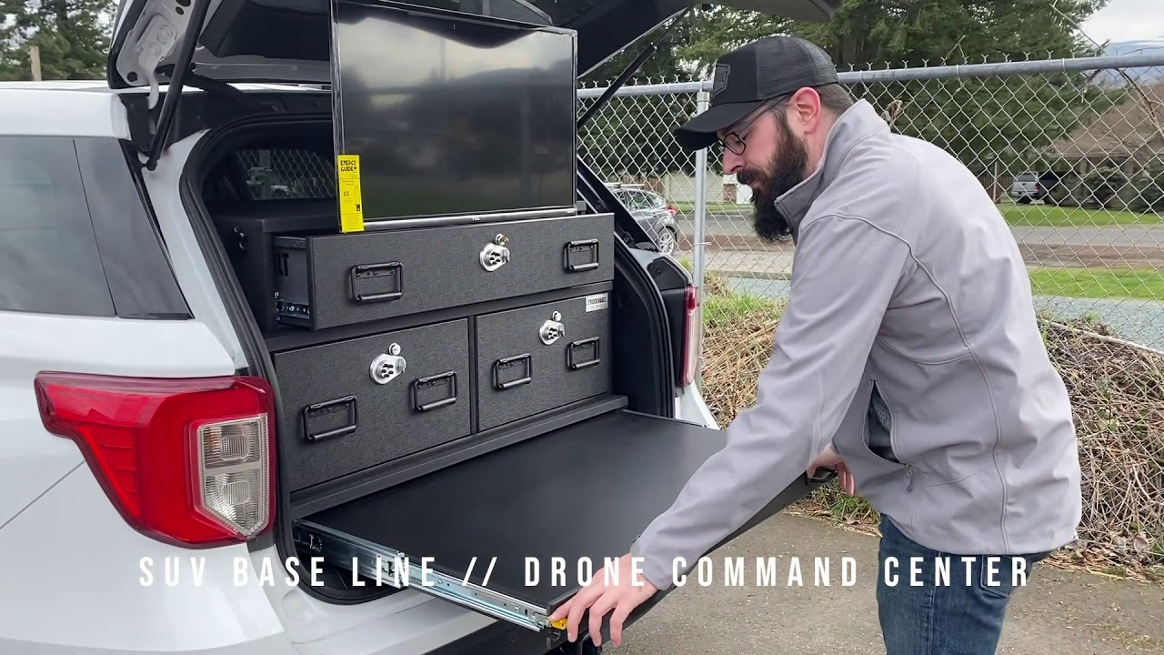 TruckVault - Drone Command Center