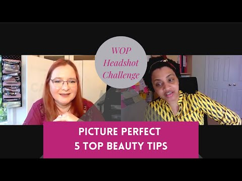Wop Headshot Challenge Day 2 My Top Beauty Tips For Picture Perfect Headshot Makeup