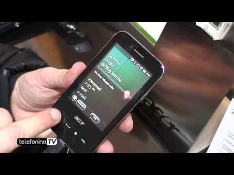 Acer P400 MWC 2010 da Telefonino.net