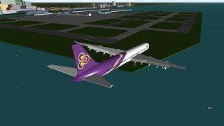 Um lugar com Airliners-o melhor grátis Roblox Flight Sim?