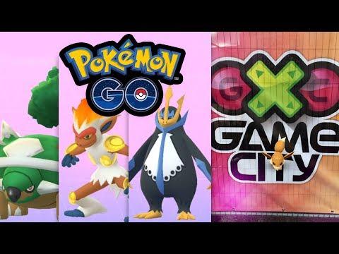Generation 4 Starter Chelterrar, Panferno, Impoleon + Game City Event 2018 | Pokémon GO Deutsch #761