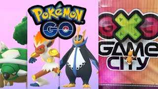 Generation 4 Starter Chelterrar, Panferno, Impoleon + Game City Event 2018 | Pokémon GO Deutsch #761