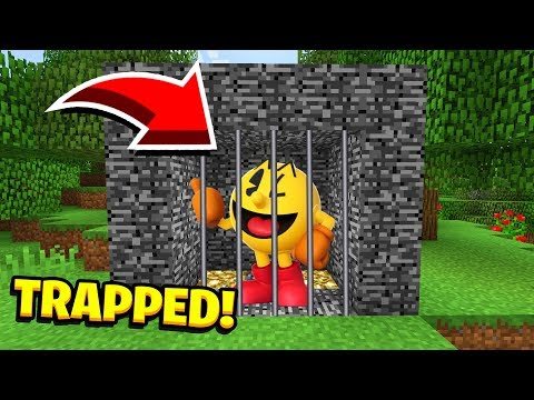 Minecraft : We TRAPPED PACMAN! (Ps3/Xbox360/PS4/XboxOne/PE/MCPE)