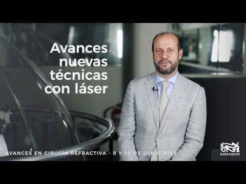 El Dr. Juan P. Álvarez de Toledo presenta el curso Avances en Cirugía Refractiva