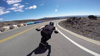 Longboarding: Mt Ruapehu Freeride
