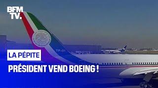 Président vend Boeing !