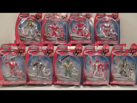 5 Inch Wave 5 Legendary Action Hero Rangers Review [Power Rangers Super Megaforce]