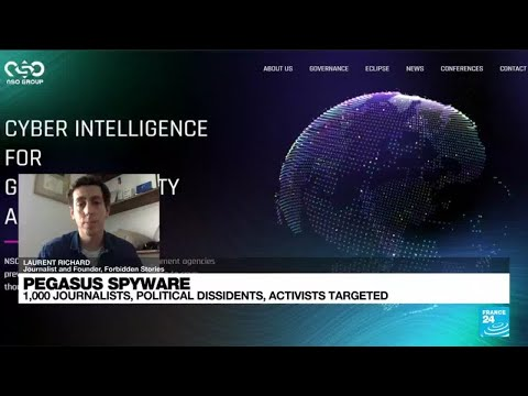 Download Who is the NSO group behind Pegasus spyware? • FRANCE 24 English