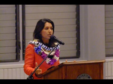 U S  Representative Tulsi Gabbard Town Hall Meeting, Tuesday, April 18, 2017