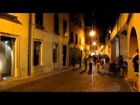 Udine (Italy) in night