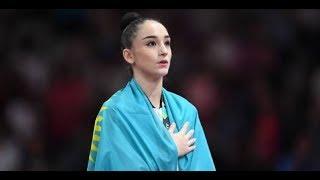 Казахстанская гимнастка Алина Адильханова завоевала ЗОЛОТО на Азиаде-2018 в Индонезии / Kazakhstan
