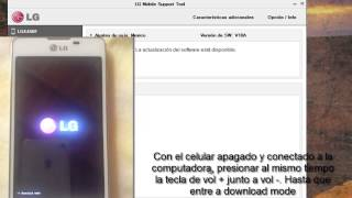Revivir cualquier LG con LG mobile support tool