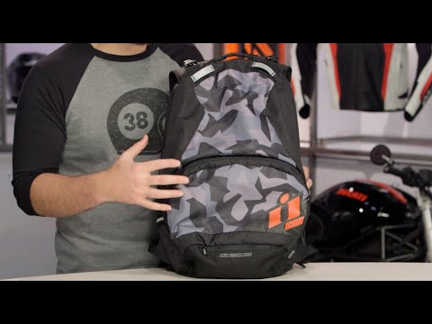 ICON Stronghold Backpack Review at RevZilla.com