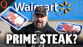 *TESTING* Walmart Prime STEAKS on a $19 Grill | Ft. Kosmos Q