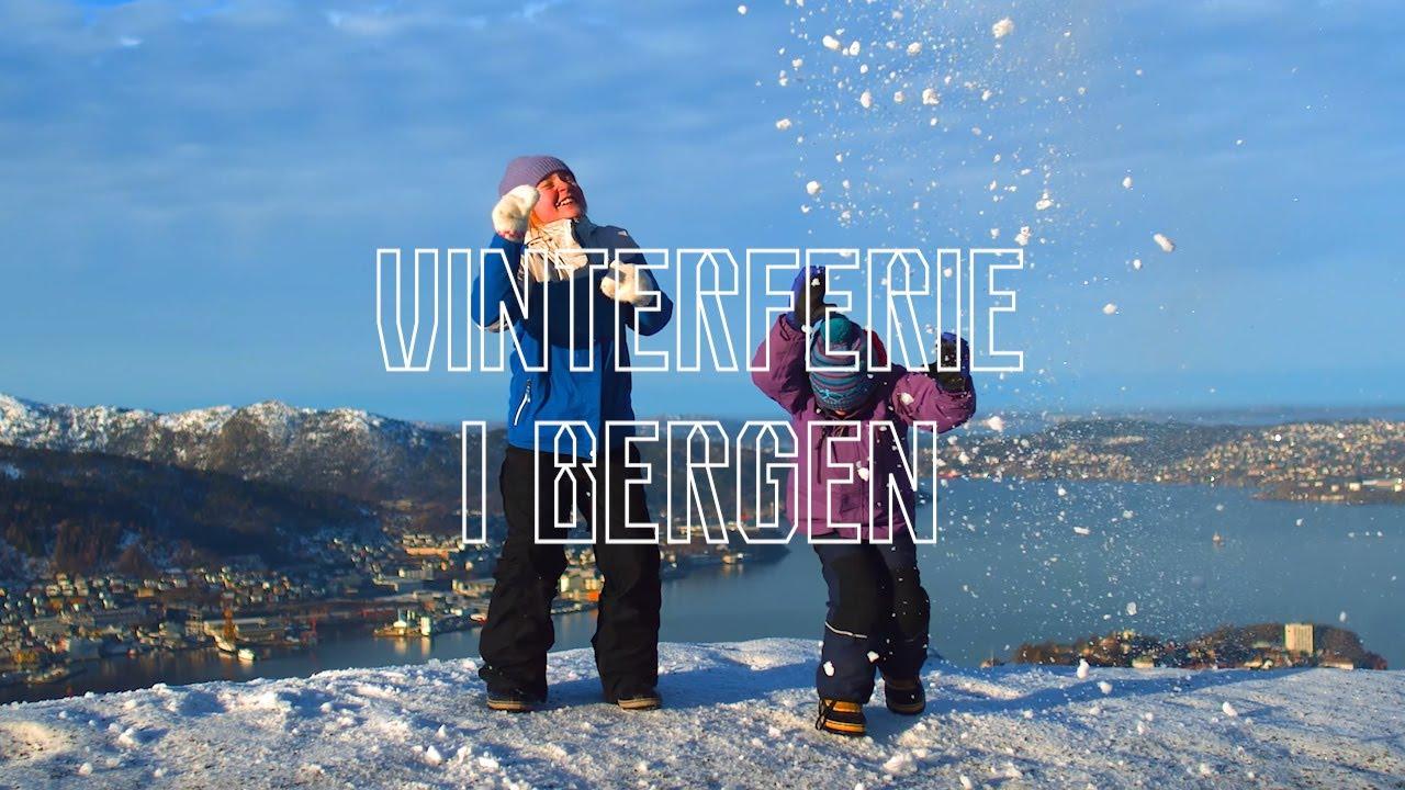 Thumbnail: Vinterferie i Bergen - spennende opplevelser for hele familien