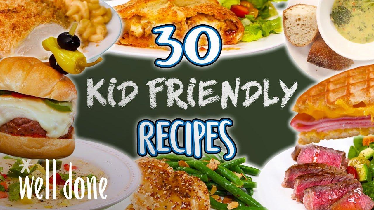 30 Easy Recipes Kids Will Love Kid Friendly Recipe Super Comp