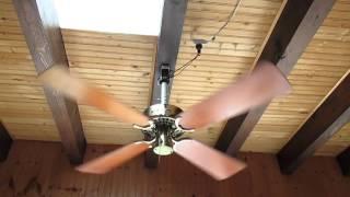 "vintage HUNTER Original (Robbins & Myers) 36"" ceiling fan, Model 22290"