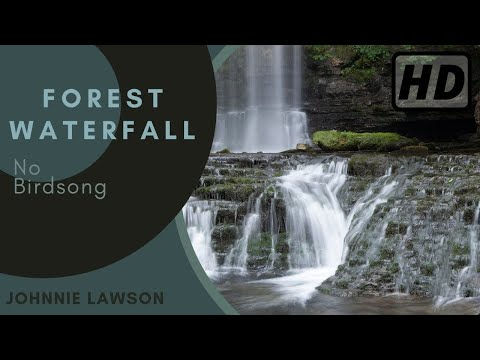 Relaxing Sounds of Nature & Soothing Waterfall-Natural Sounds for Sleep-Calm Relaxation-Meditation