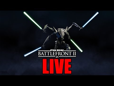 GENERAL GRIEVOUS IS HERE! | STAR WARS BATTLEFRONT 2 LIVE STREAM | #110 thumbnail