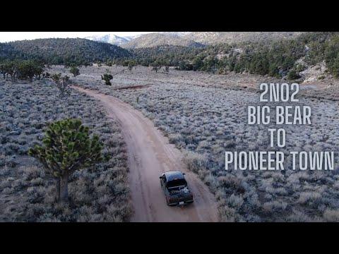 SoCal Off Roading-1N02 Baldwin Lake to Pioneer Town- 4k Drone footage 2020-