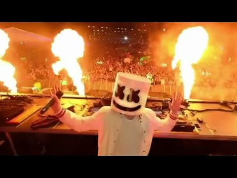 Marshmello Live @ Lake Festival 2017 (Play at Marshmello ft Khalid - Silence)