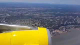 Spirit Airlines: Landing LaGuardia Airport (LGA)