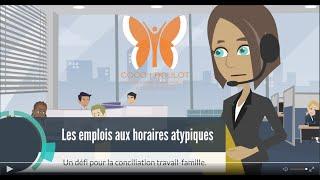 capsule défi de la conciliation travail-famille pour les métiers aux horaires atypiques