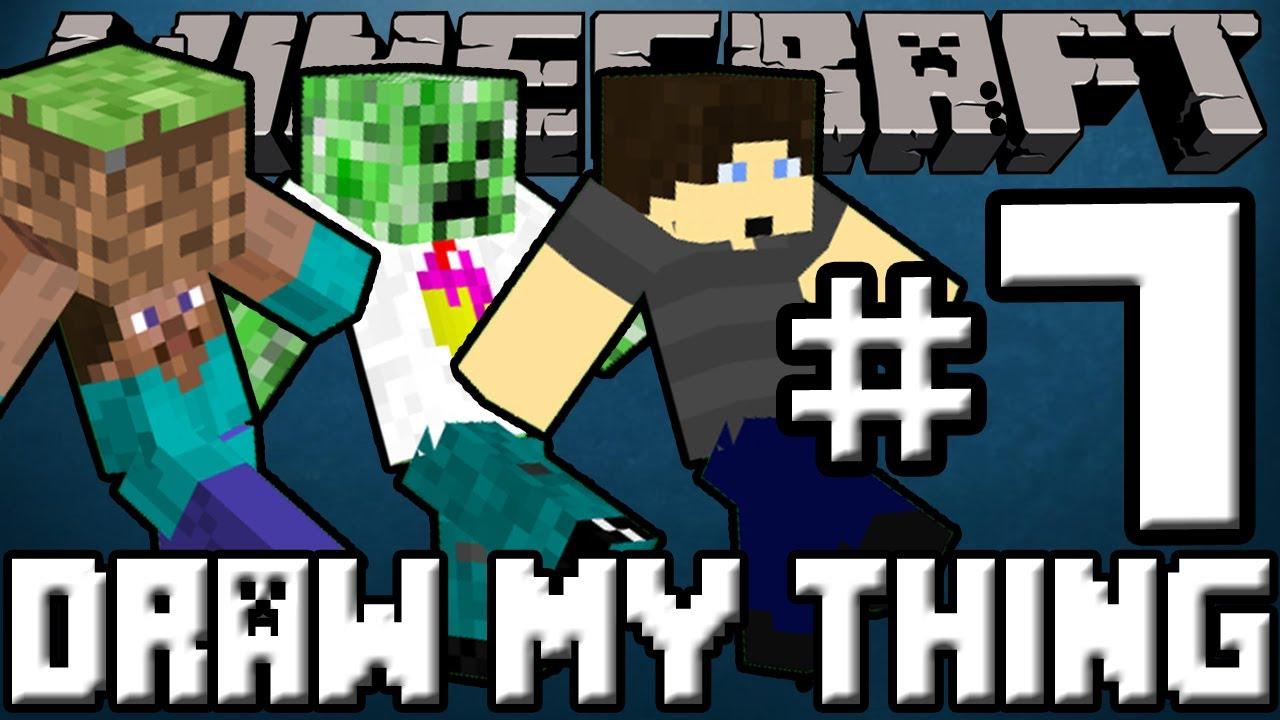 Minecraft Draw My Thing Mini Game 7 Powermove Squad Youtube
