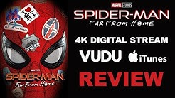 Spider-Man: Far From Home 4K Digital Stream Review