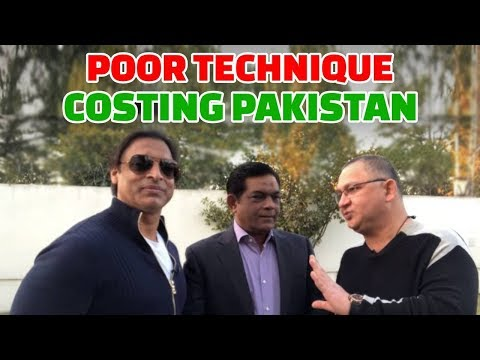 Poor technique costing Pakistan | Technical Analysis 2nd Test Day 3