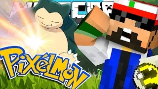 Minecraft | Pokemon | THE TEAM CHALLENGE | Snorlax Giga Impact!!