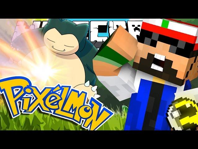 Minecraft | Pokemon | THE TEAM CHALLENGE | Snorlax Giga Impact!!