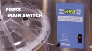 видео вакуумный аппарат для ресторана