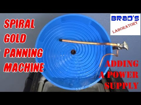 Spiral Gold Panning Machine