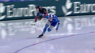 Россия впервые за четверть века на ЧМ по конькобежному спорту выиграла женский забег на 500 метров
