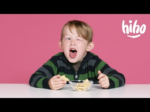 American Kids Try Snacks from the Philippines