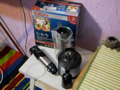 Розпакування блендера SATURN ST-FP9086/ST-FP9086 D з Rozetka.com .
