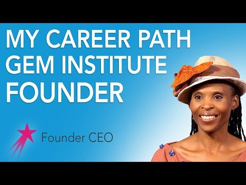 Founder CEO: My Career Path - Mpho Letima Career Girls Role Model